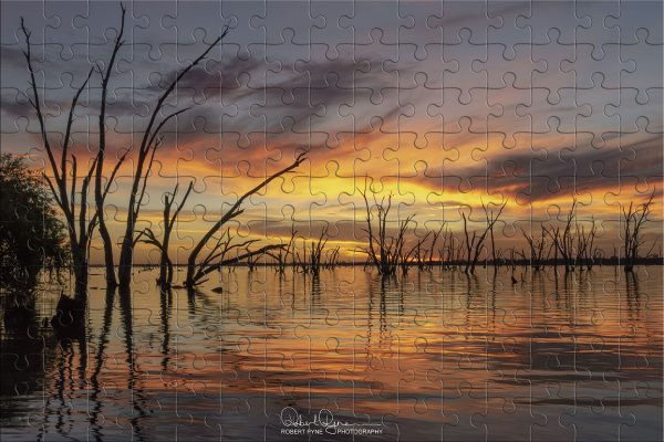 Lake Mulwala Sunset Puzzle